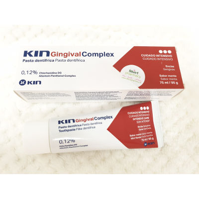 Kin Gingival Complex Mouthwash & Toothpaste