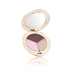 Jane Iredale Triple Eye Shadow Pink Bliss (Shimmery baby pink, Matte burgundy brown, Ecru)