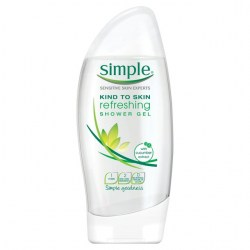 Simple Kind to Skin Refreshing Shower Gel 250ml