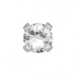 Studex Stainless Tiffany 3mm April Crystal Ear Piercing