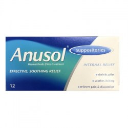 ANUSOL SUPPOSITORIES 12 BUY ONLINE