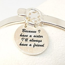 Bangle-SIlver-Sister-Friend-Gift-2