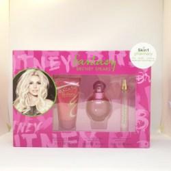 Britney Spears Fantasy Gift Set EDP 30ml & EDP 10ml with Body Souffle 50ml
