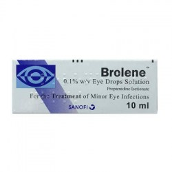 Brolene 0.1% w/v eye drops