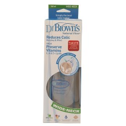 DR BROWNS WIDE NECK BABY BOTTLE