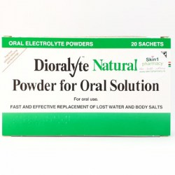 Dioralyte Natural Powder For Oral Solution 20 Sachets
