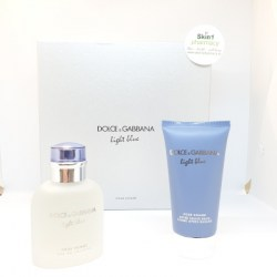 Dolce & Gabbana Light Blue Gift Set EDT 75ml Spray with After Shave Balm 75ml