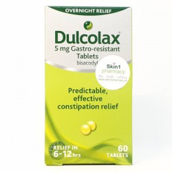 Dulcolax 5mg Gastro-Resistant 60 Tablets