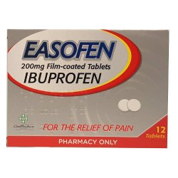 EASOFEN IBUPROFEN 200mg TABLETS