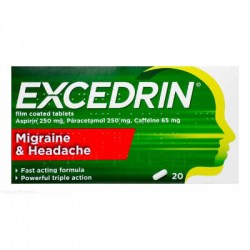 Excedrin Migrane & Headache 20 Tablets