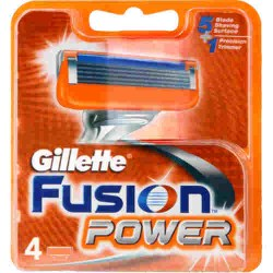 Gillette Fusion Power 4 Cartridges