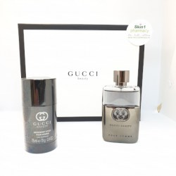Gucci Guilty For Him Gift Set EDT 50ml Spray with Deodorant Stick 75g