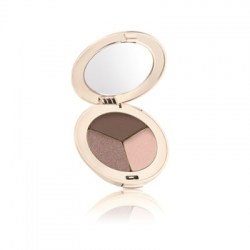 Jane Iredale Triple Eye Shadows Brown Sugar (Warm brown, Shimmery peach, shimmery Copper eggplant)