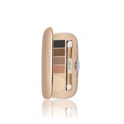 Jane Iredale Eye Shadow Kit Daytime (Oyster, Almond, Cappuccino, Dark Suede and Charcoal)