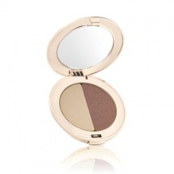 Jane Iredale Duo Eye Shadow (Pear White, Shimmery Copper Eggplant)