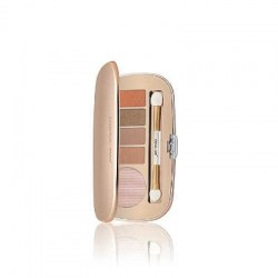 Jane Iredale Eye Shadow Kit Perfectly Nude (Cream, Foxy, Cappuccino, Antique Gold and Copper)