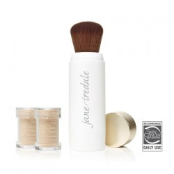 Jane Iredale Powder Me SPF 30 Dry Sunscreen Brush with 2 Canisters