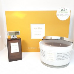 Jenny Glow Amber & Lily Fragrance & Scented Scandle Gift Set