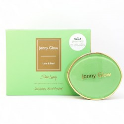Jenny Glow Lime & Basil Silky Perfumed Hand & Body Cream 15g
