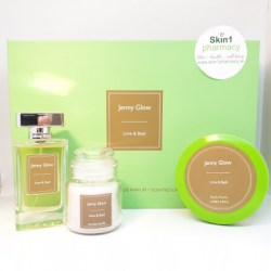 Jenny Glow Lime & Basil Body Butter, Fragrance & Candle Gift Set