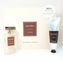 Jenny Glow Wood & Sage Fragrance & Shower Gel Gift Set