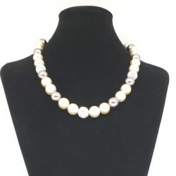Faux Pearl Necklace (Mixed Colour)