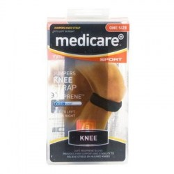 Medicare Sport Neoprene Jumpers Knee Strap One Size