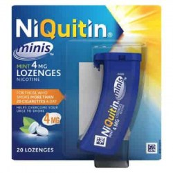 NiQuitin Minis Mint 1.5mg Nicotine 4mg Lozenges