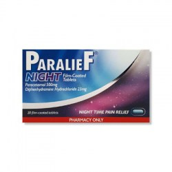 Paralief Night 20 Tablets