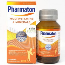 Pharmaton Multivitamin & Minerals with Ginseng G115 100 Capsules
