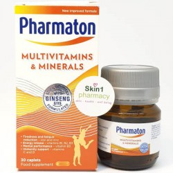 Pharmaton Multivitamin & Minerals with Ginseng G115 30 Capsules