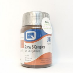 Quest Stress B Complex with 500mg Vitamin C 30 Tablets