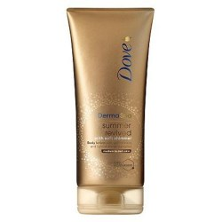 Dove Derma Spa Self Tan Shimmer Med to Dark Skin