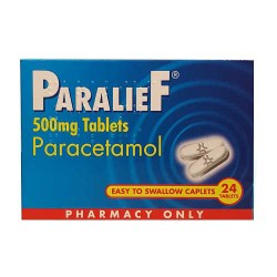 Paralief paracetamol 500mg Tablets 24