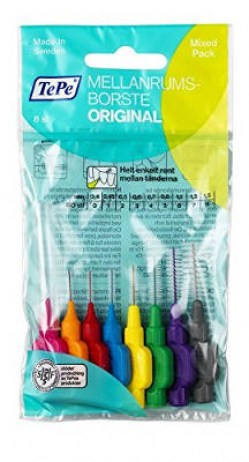 Tepe Interdental Brush Mixed Pack